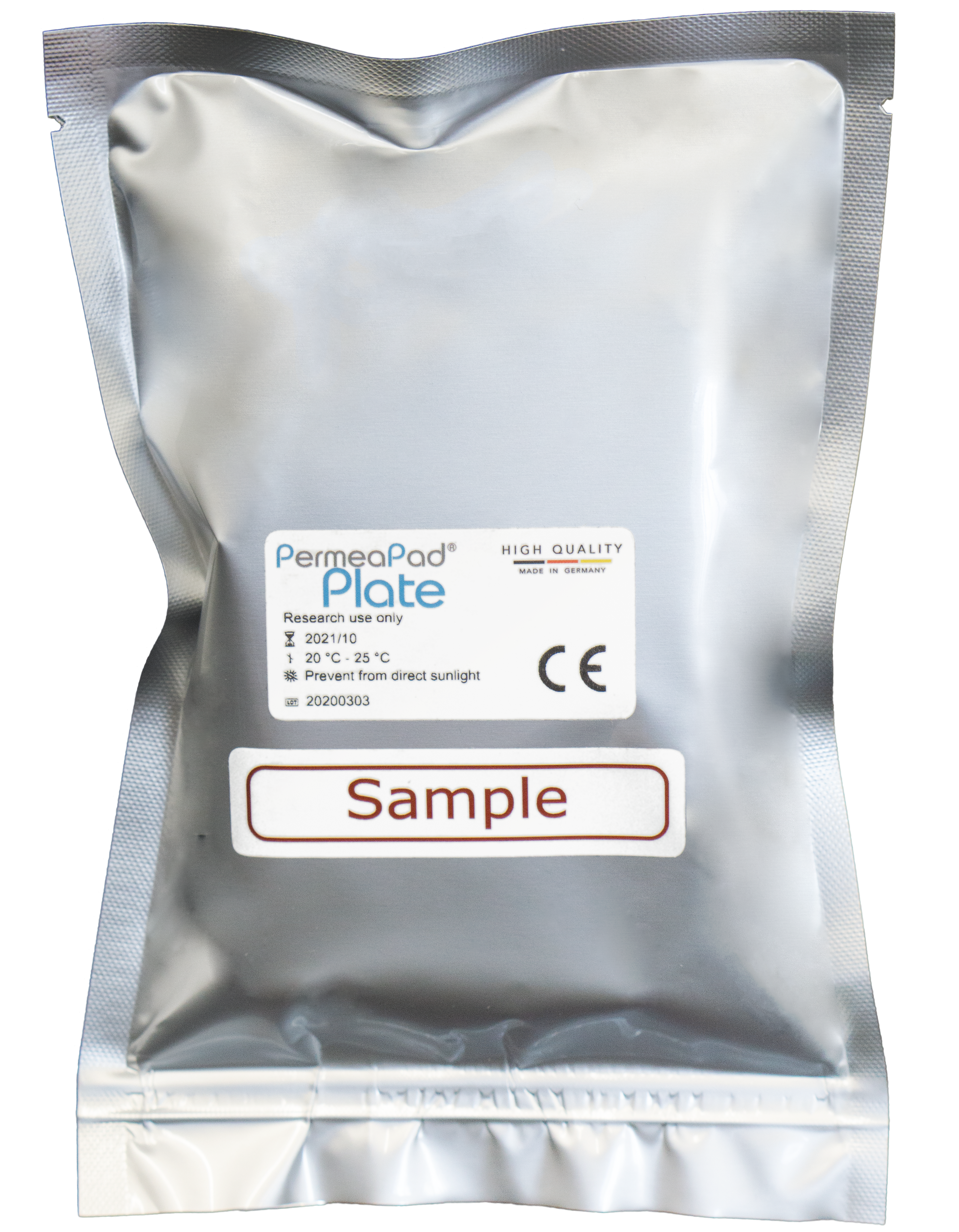 PermeaPad® Plate Sample